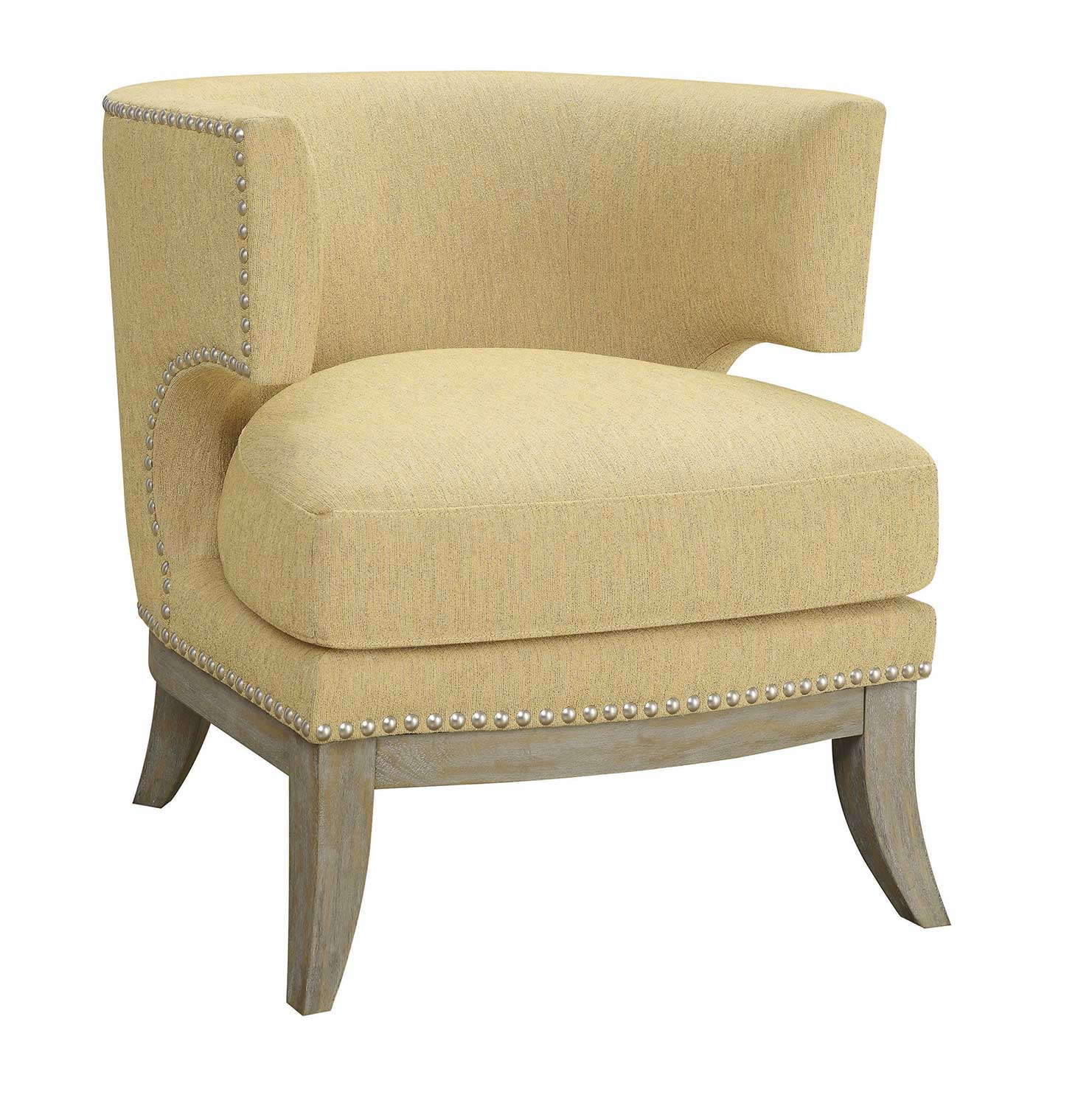 Coaster 902562 Accent Chair - Yellow