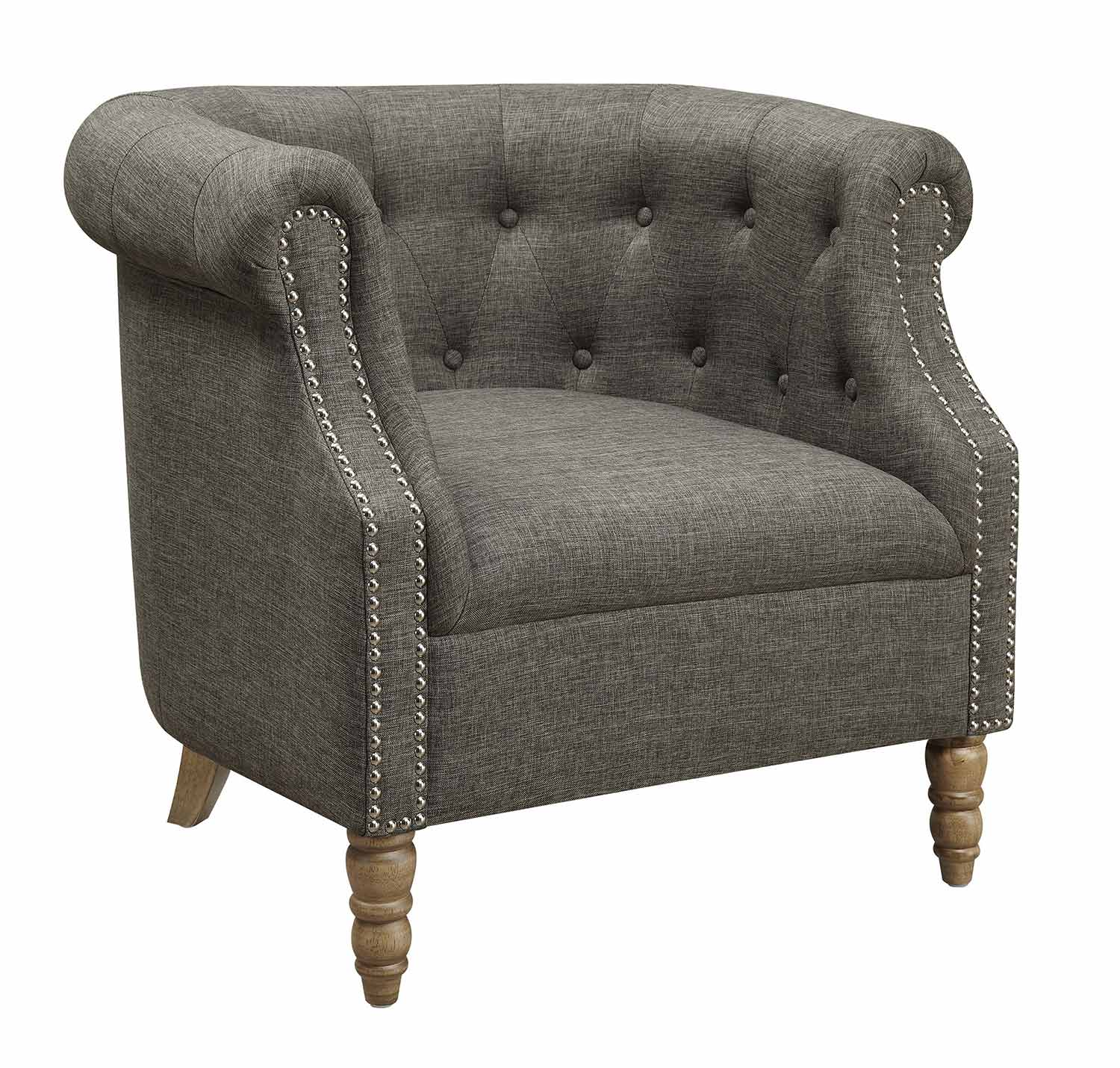 Coaster 902696 Accent Chair - Grey