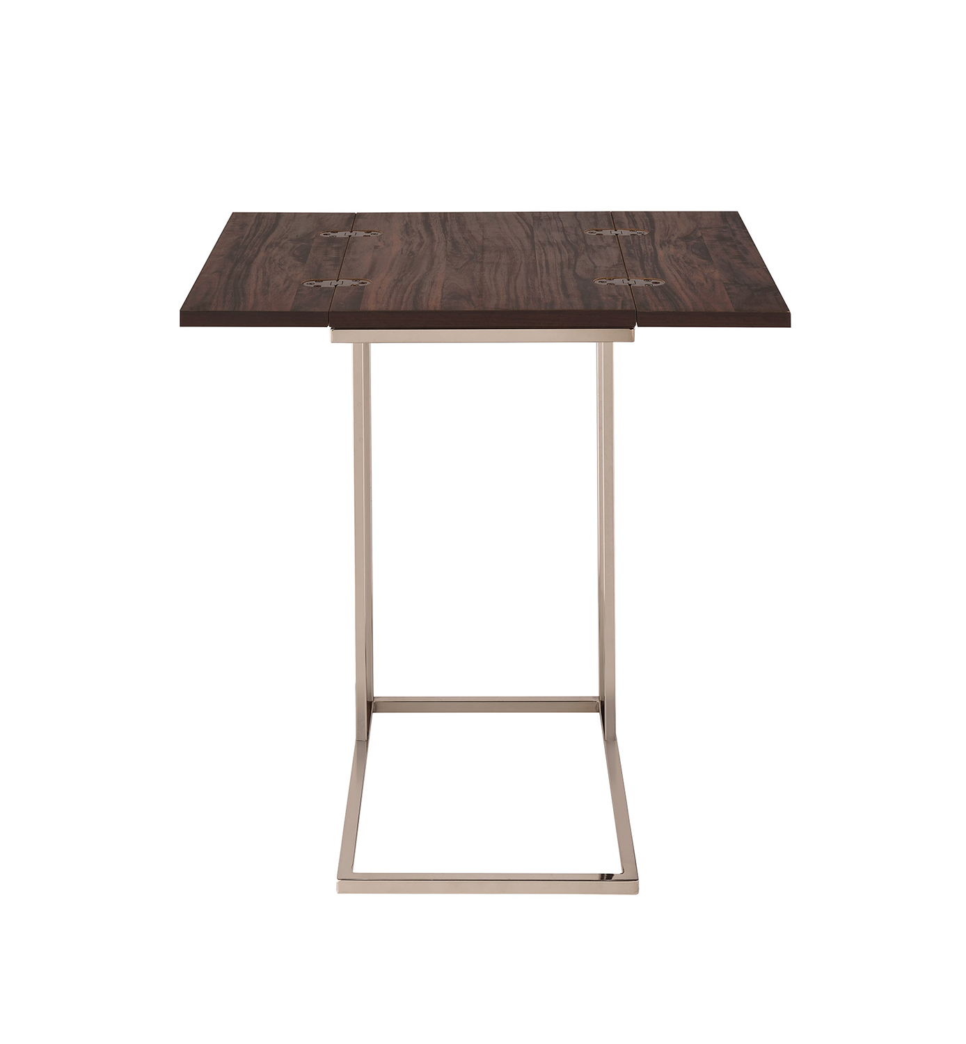 Coaster 902932 Accent Table - Chestnut/Chocolate Chrome