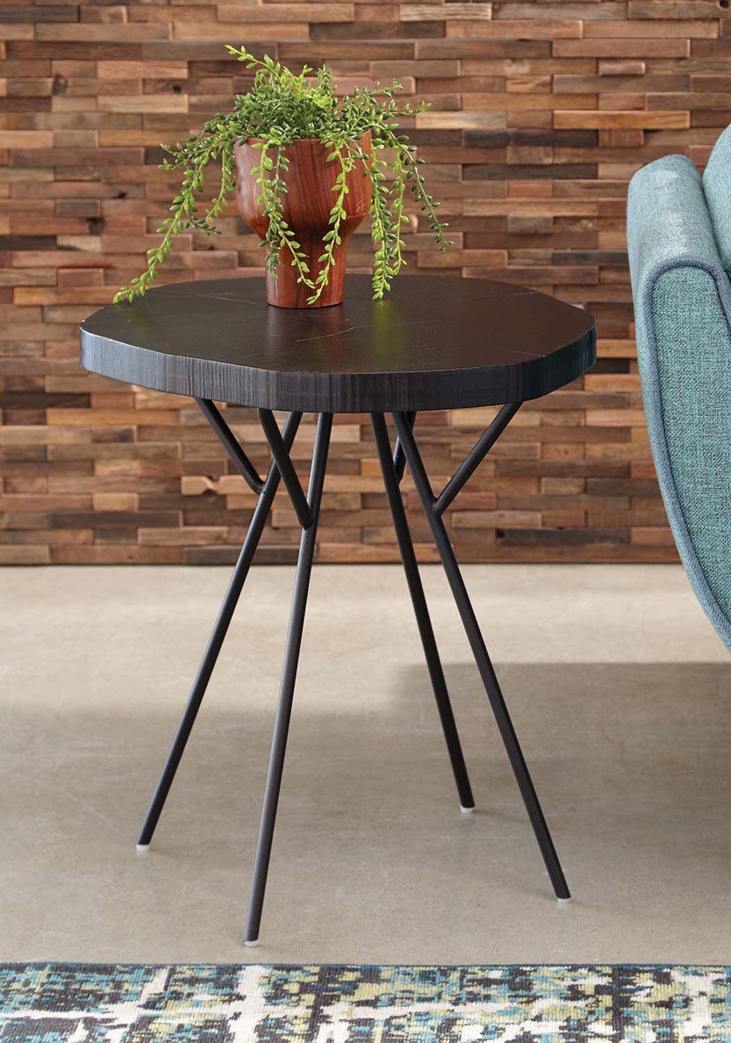 Coaster 903351 Accent Table - Rich Black