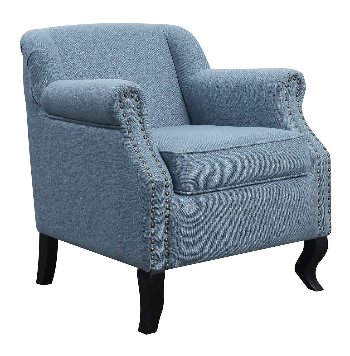Coaster 903360 Accent Chair - Light Blue