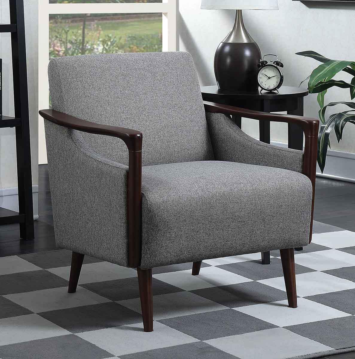 Coaster 904046 Accent Chair - Grey/Brown