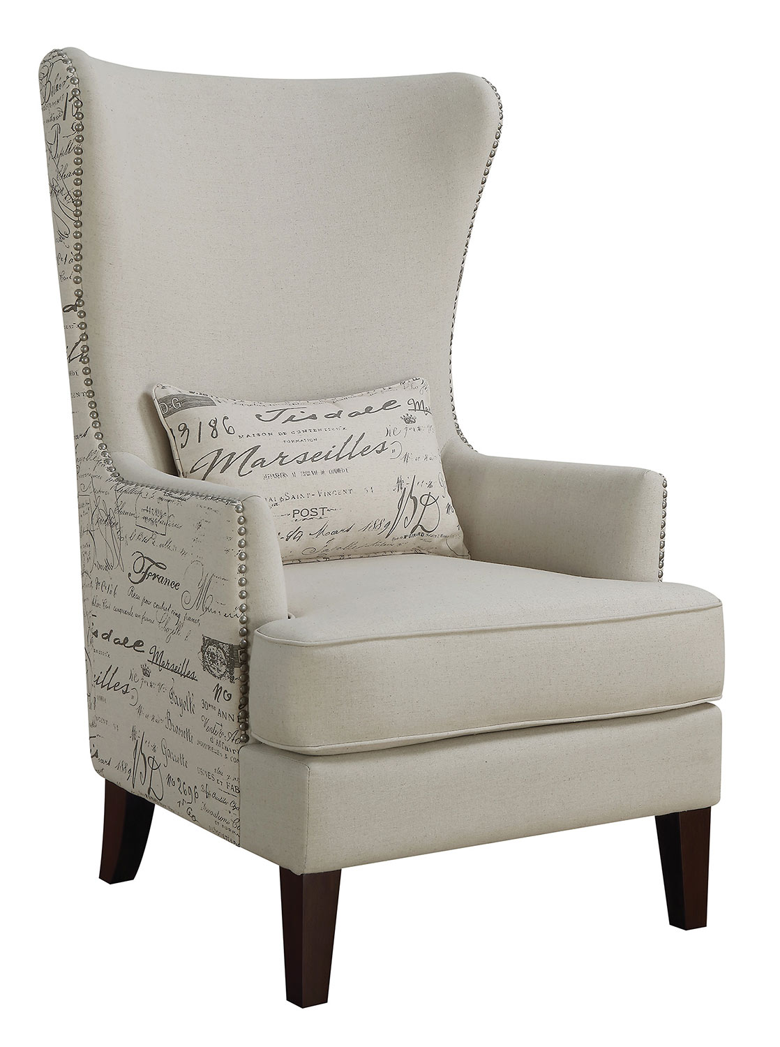 Coaster 904047 Accent Chair - Cream