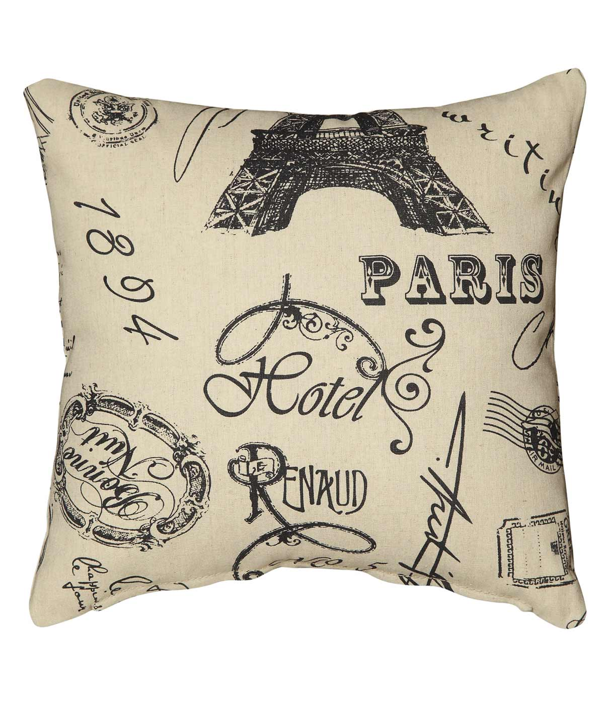 905087 Paris Pillow