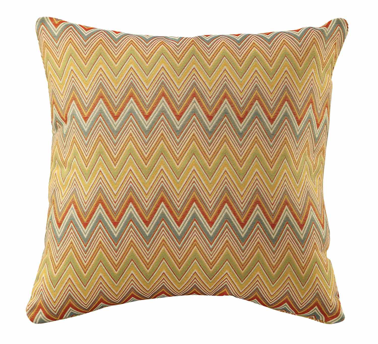 905094 Yellow Zig Zag Pillow