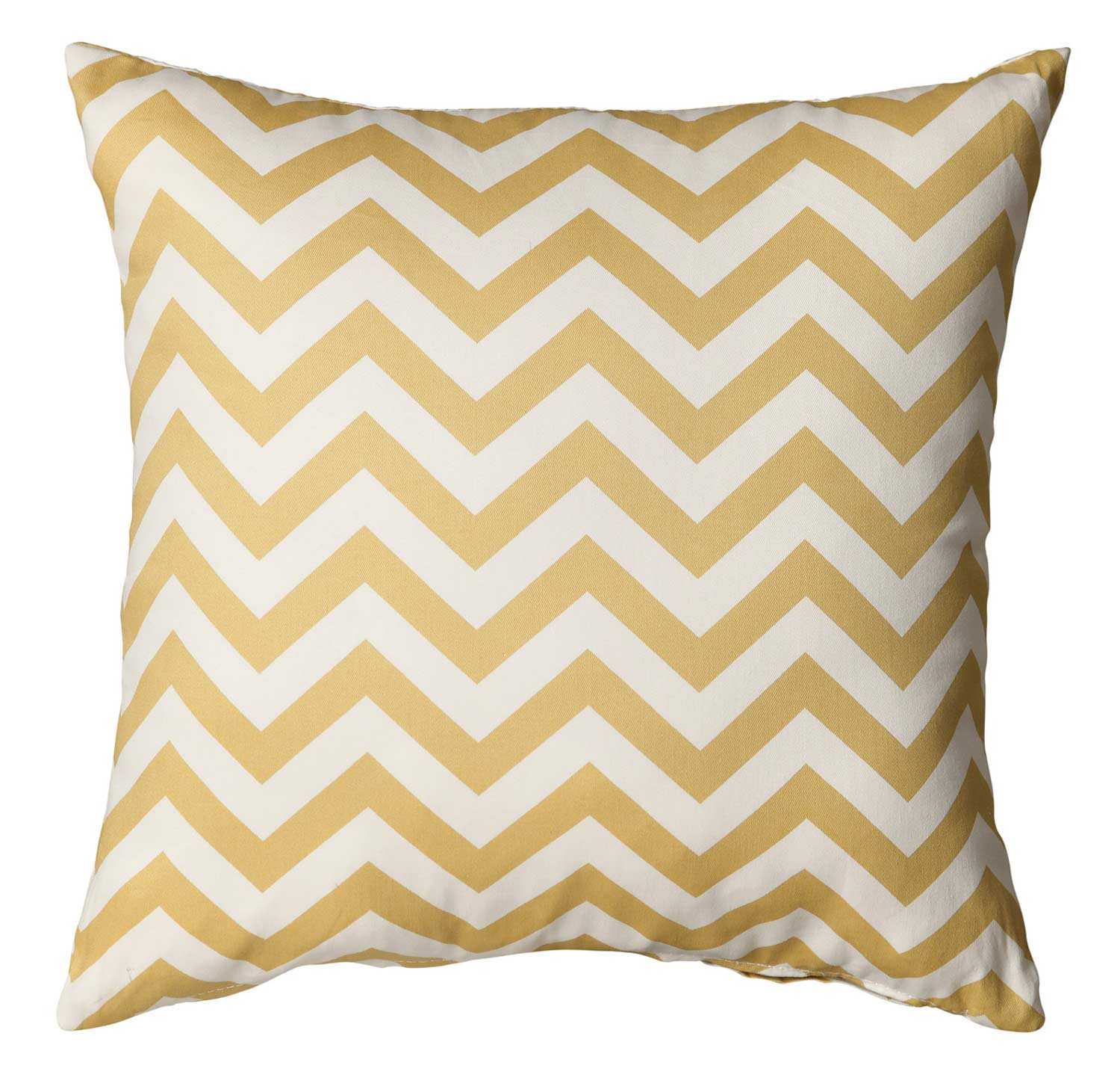 905096 Yellow Chevron Pillow