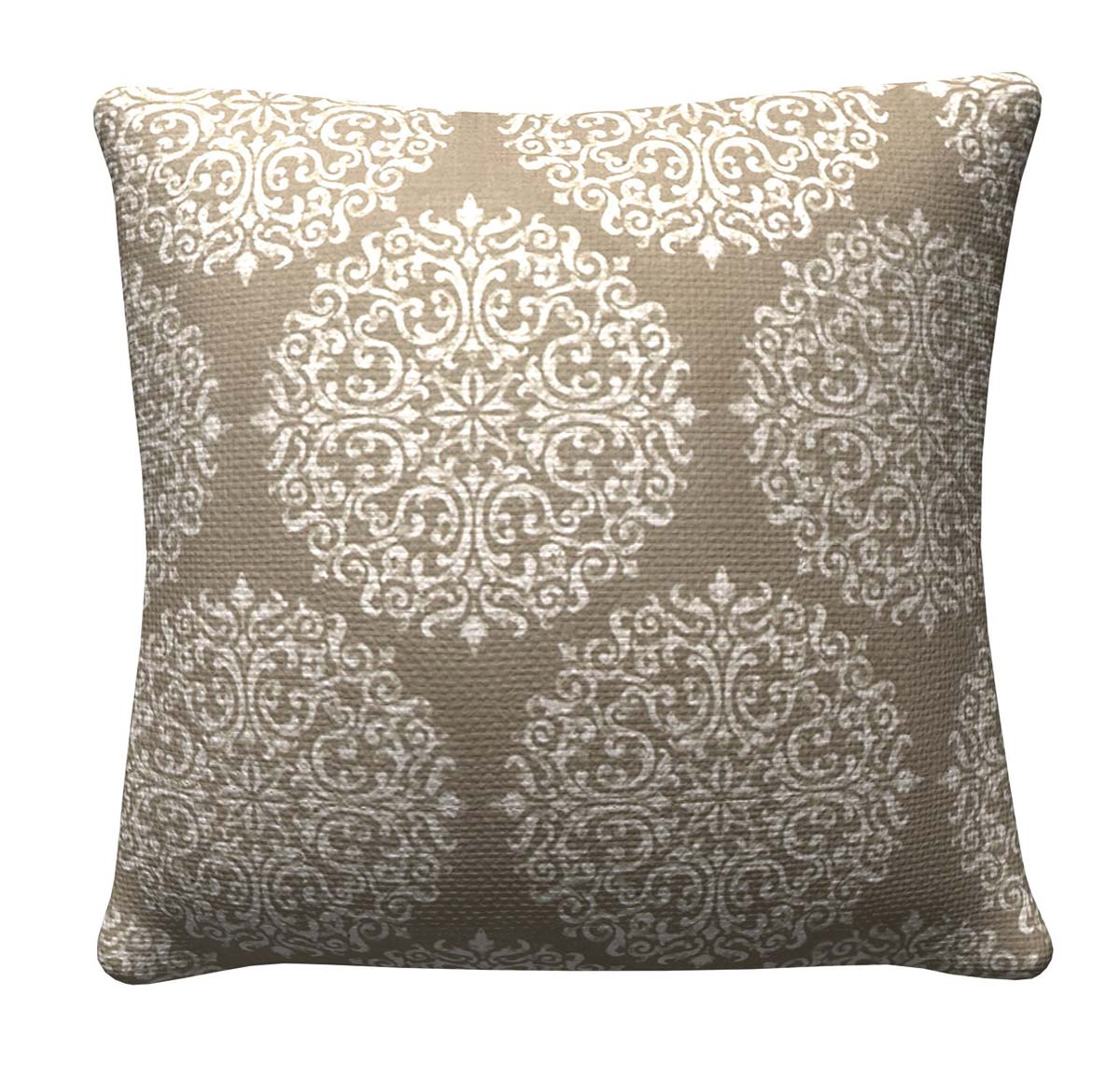 905315 Taupe Medallion Pillow