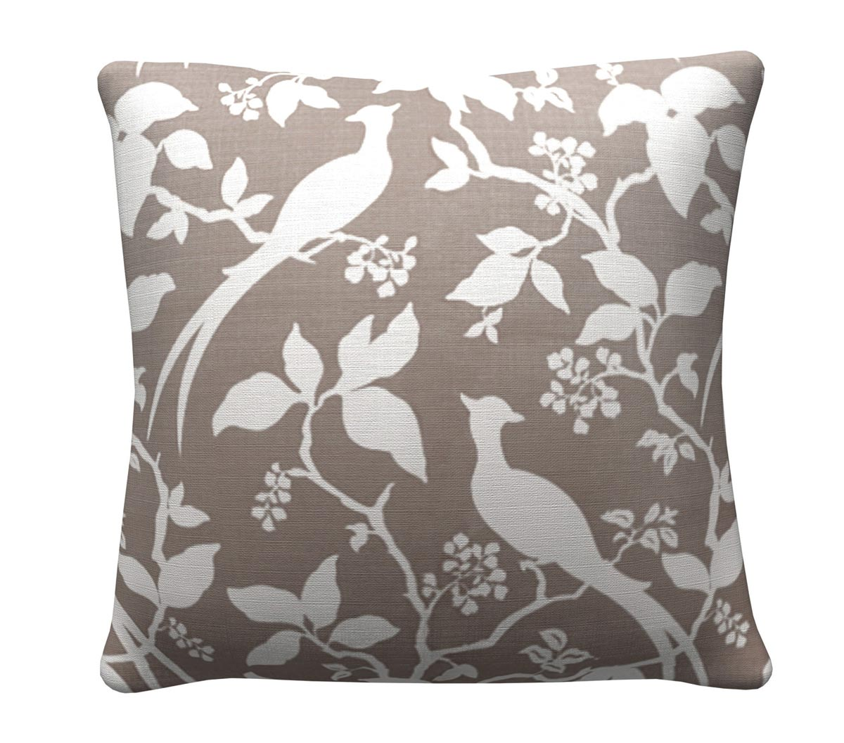 905317 Grey Floral Pillow