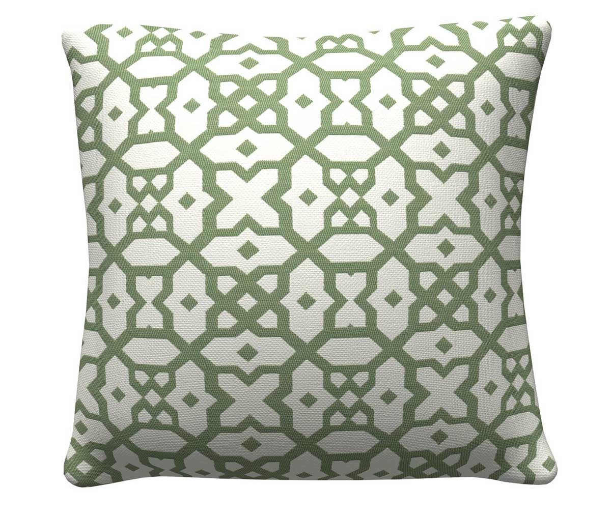 905321 Green Lattic Pillow