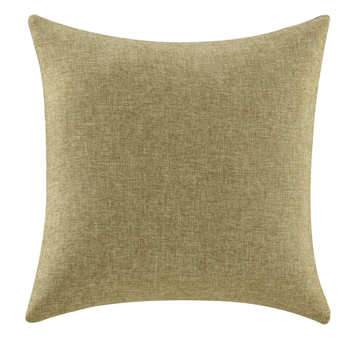 905342 Solid Mustard Pillow