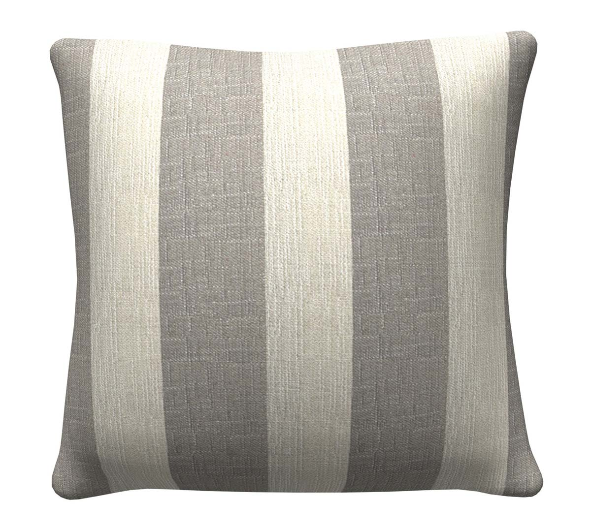 905346 Grey Stripes Pillow