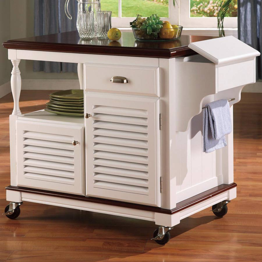 Coaster 910013 Kitchen Cart