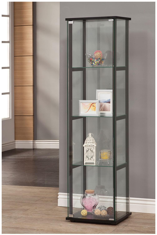 Coaster 950171 Curio Cabinet - Black