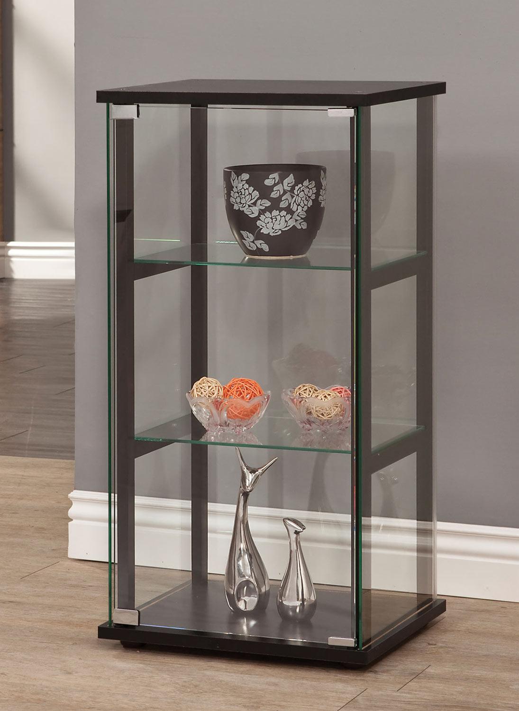 Coaster 950179 Curio Cabinet - Black
