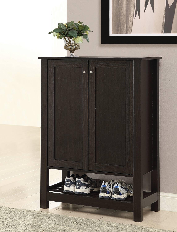 Coaster 950550 Shoe Cabinet - Cappuccino