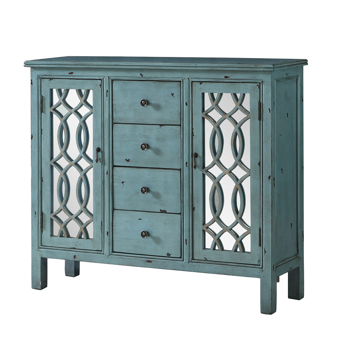 Coaster 950736 Accent Cabinet - Antique Blue
