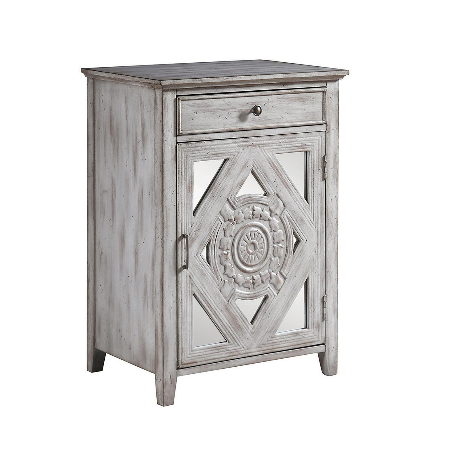 Coaster 950753 Accent Cabinet - Distressed Grey