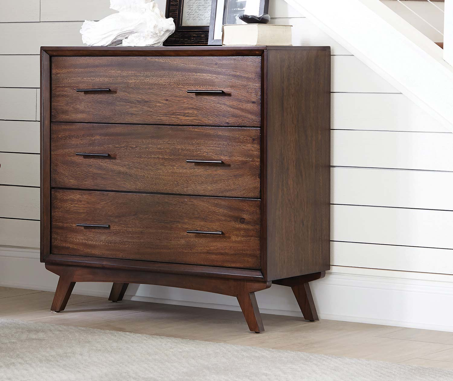 Coaster 950760 Accent Cabinet - Warm Brown/Black