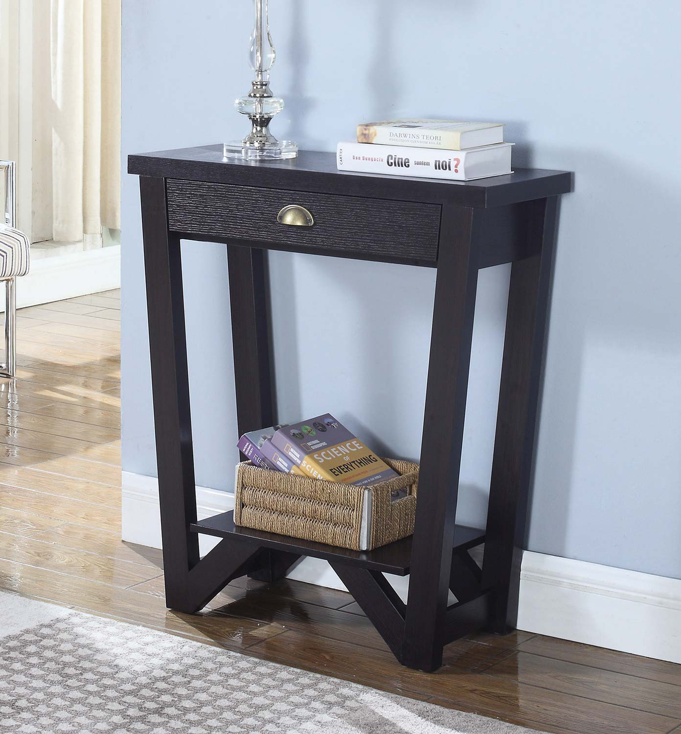 Coaster 950913 Console Table - Cappuccino