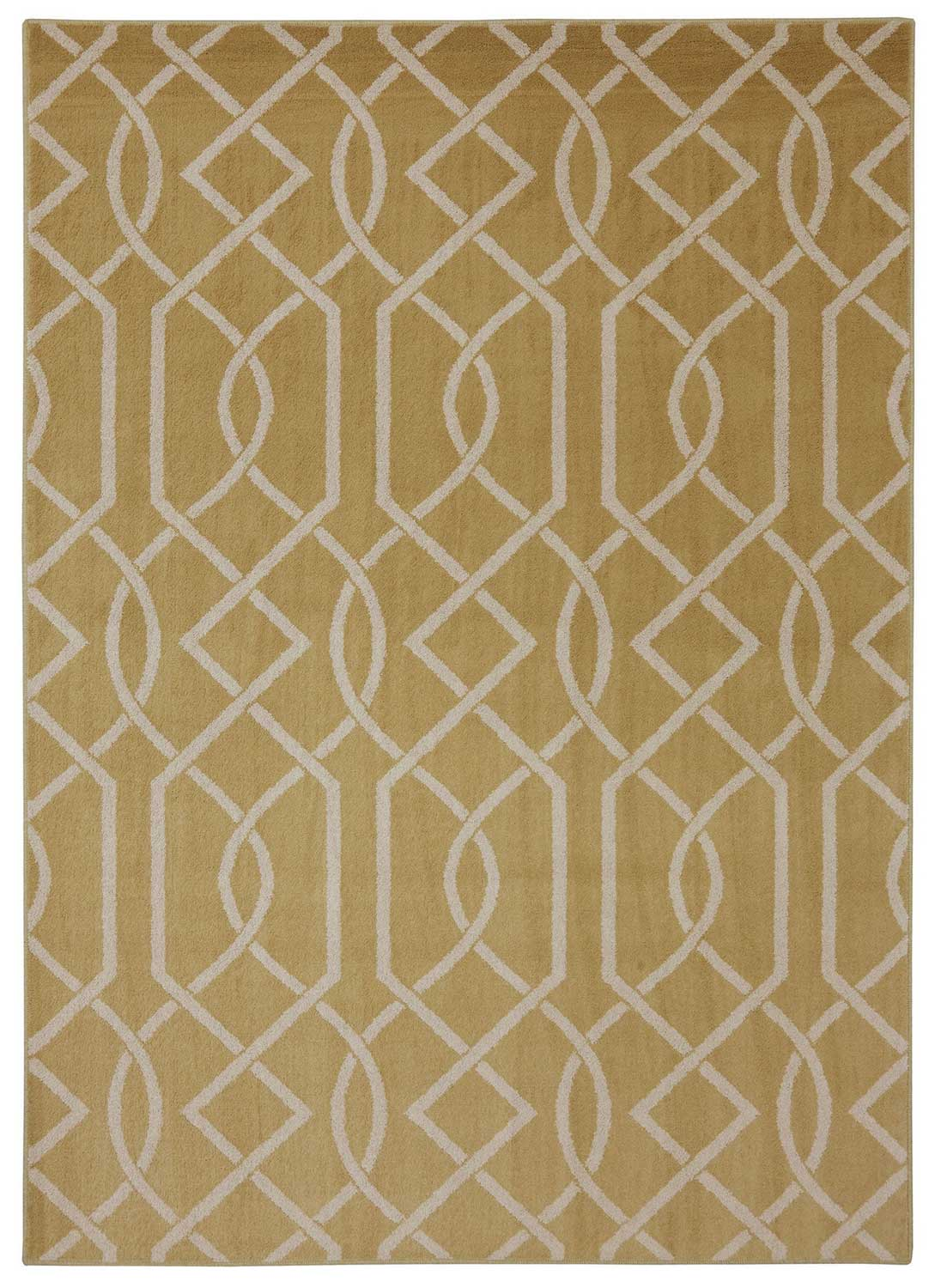 Coaster 970117 Criss Cross Lines Rug