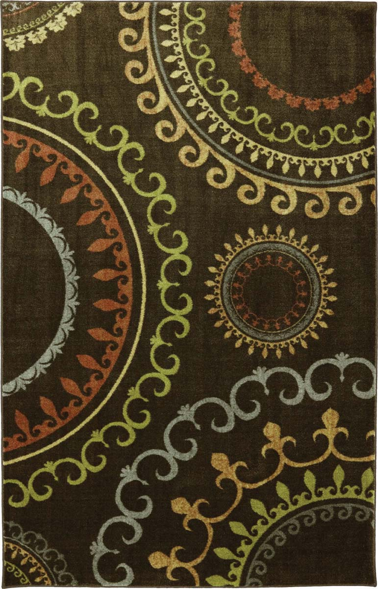 Coaster 970125 New Suzani Panel Rug