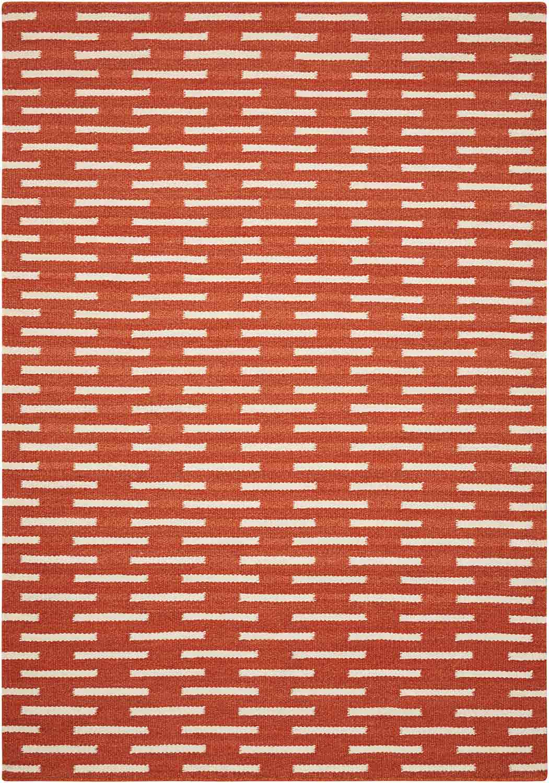 Coaster 970213L Large Rug - Orange
