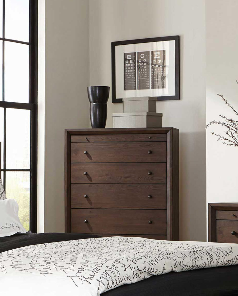 Coaster Bingham Chest - Brown Oak
