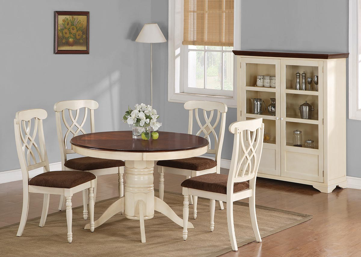 Coaster Cameron Round Dining Set