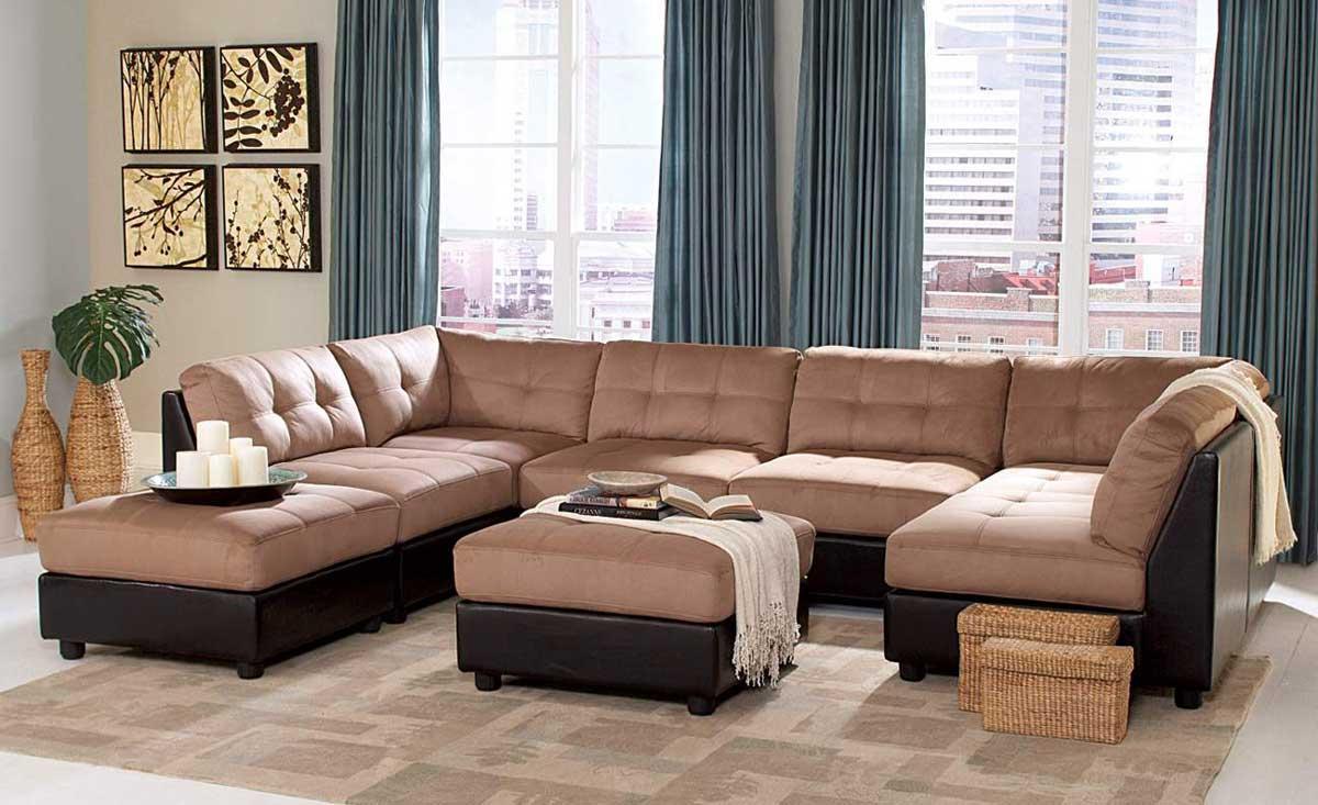 Coaster Claude Sectional Sofa Set CLAUDE-SECT-SET