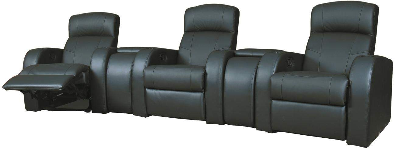 Coaster CYRUS THEATER SET 2 Cyrus Home Theater Seating Set 2