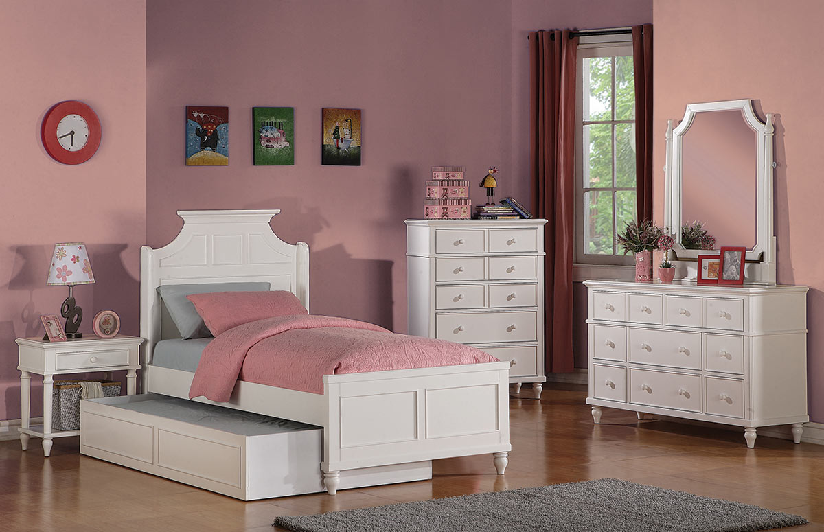 Youth Bedroom Sets South Shore Little Treasures Twin Bed And