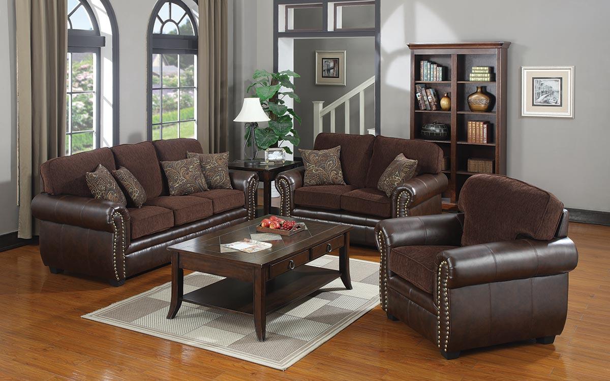 Coaster Florence Living Room Set Florence LivSet At