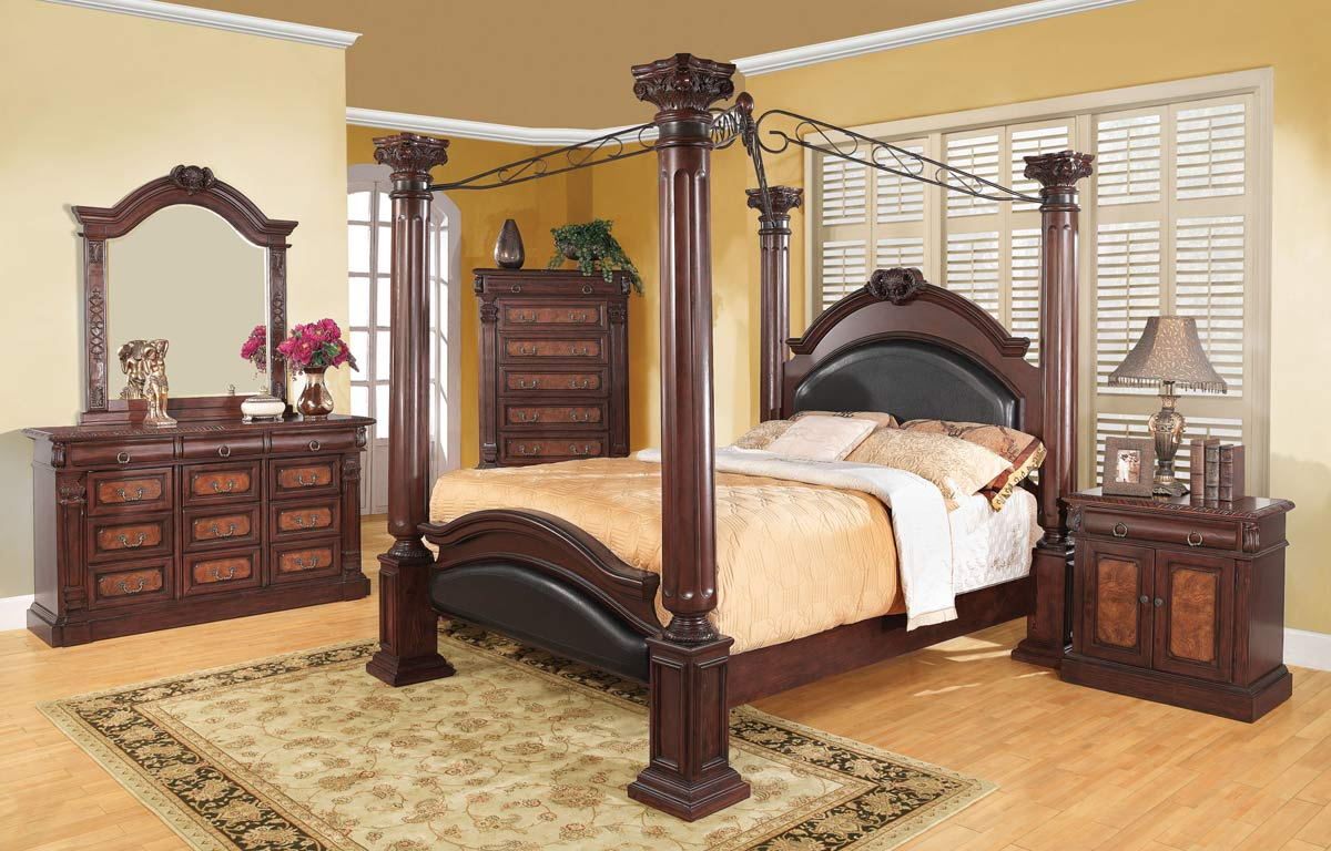 Coaster Grand Prado Bedroom Set GrandPrado BedSet at Homelement