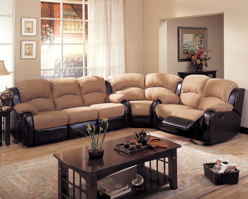 Gulliver Double Reclining Sofa - Coaster