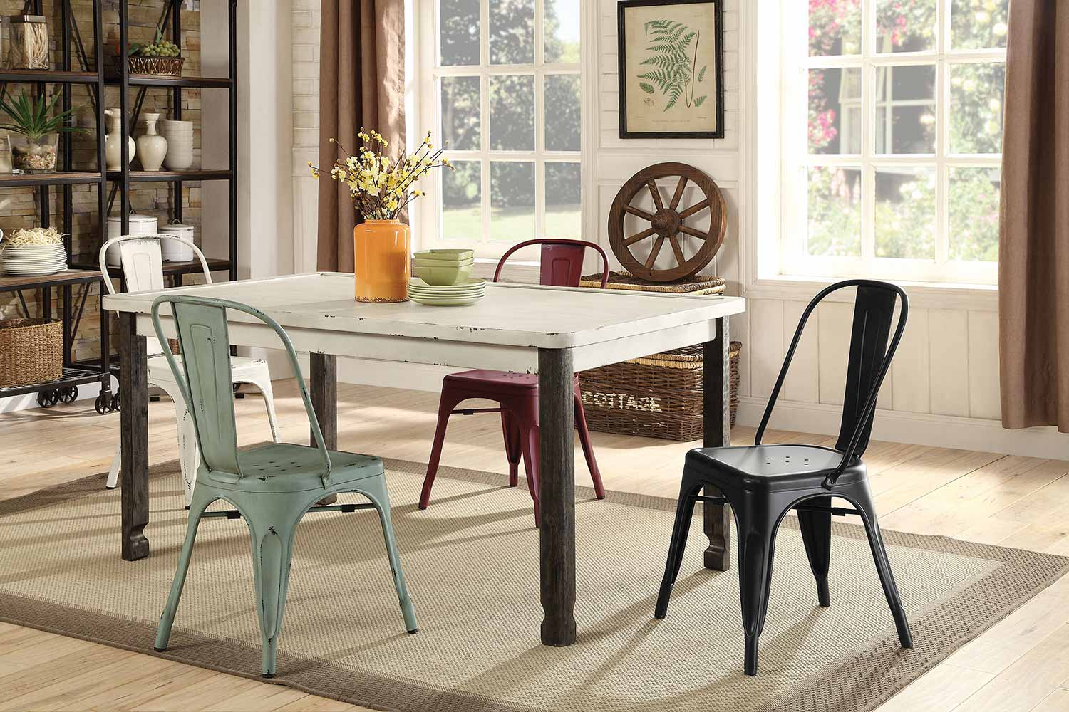 Coaster Keller Rectangular Dining Set