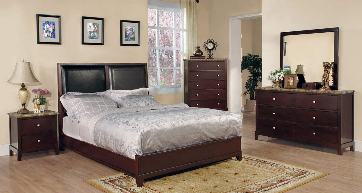 Linden Bedroom Set - Coaster