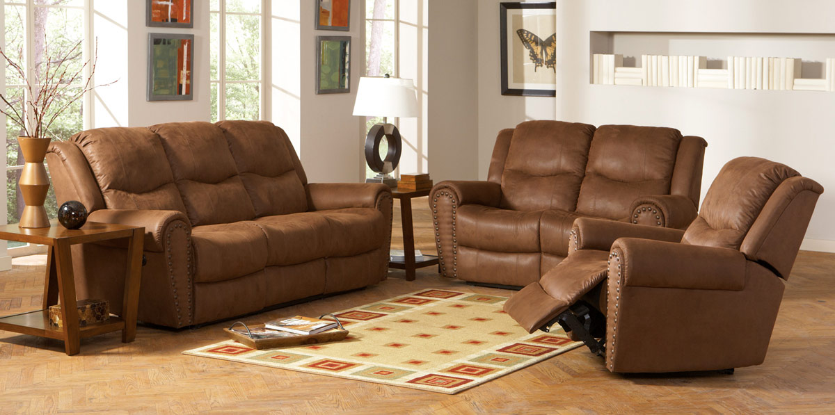 Coaster Morey-LivSet Morey Living Room Set