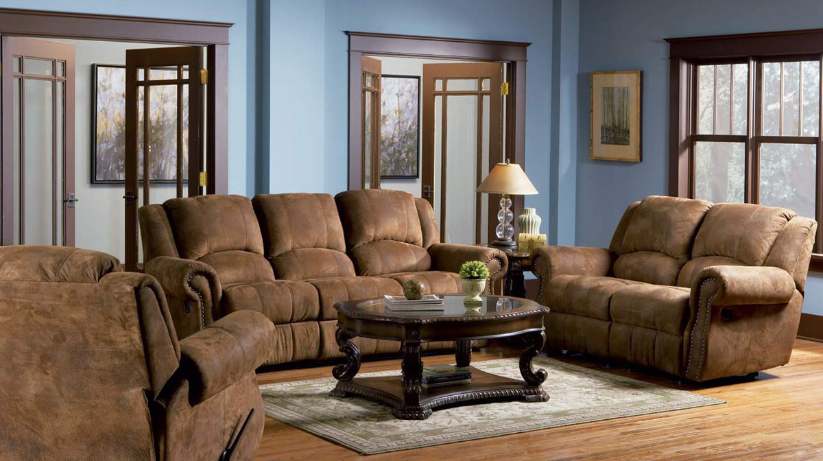 Coaster Rawlinson Double Reclining Sofa