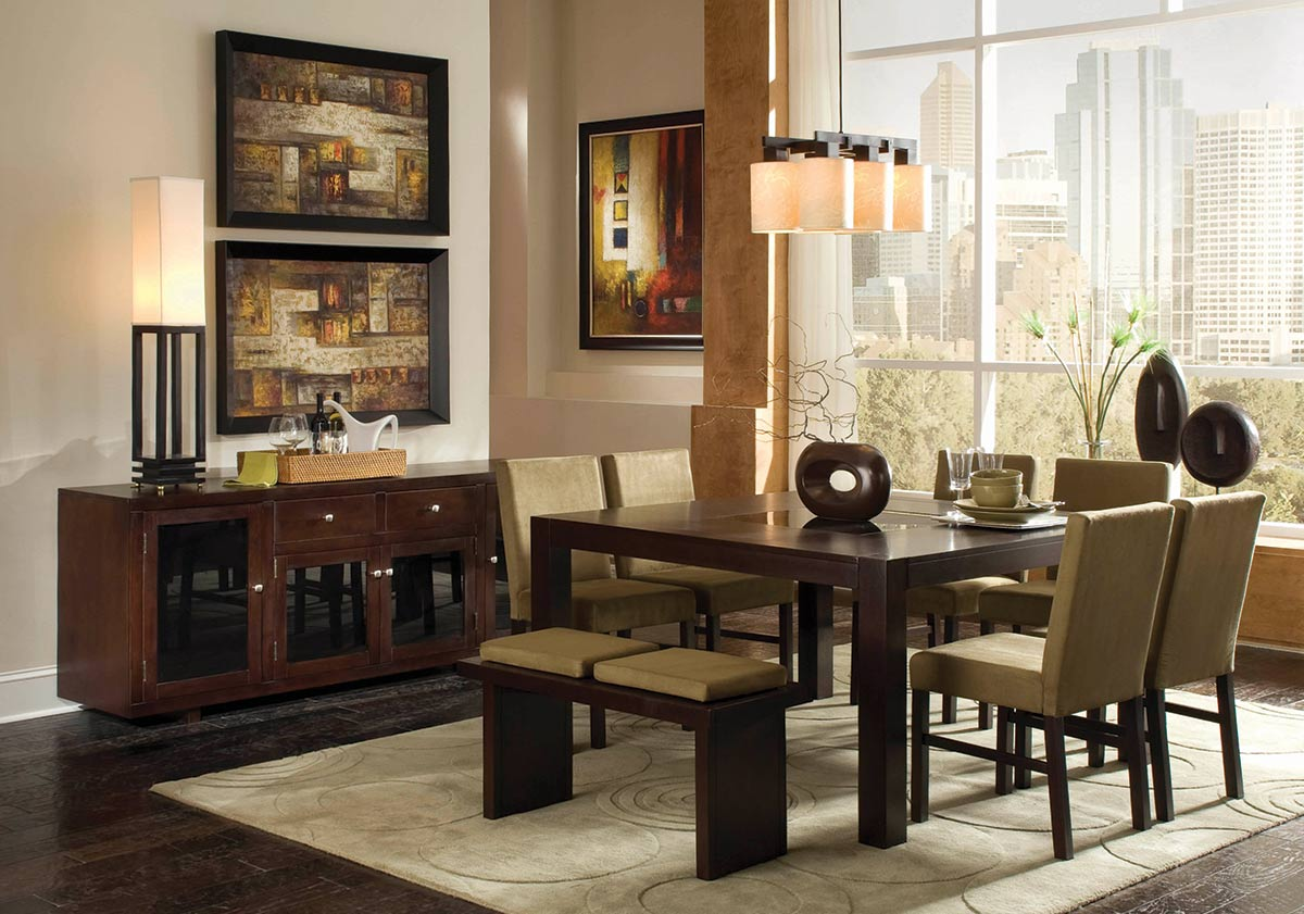 Coaster Spencer Dining Set