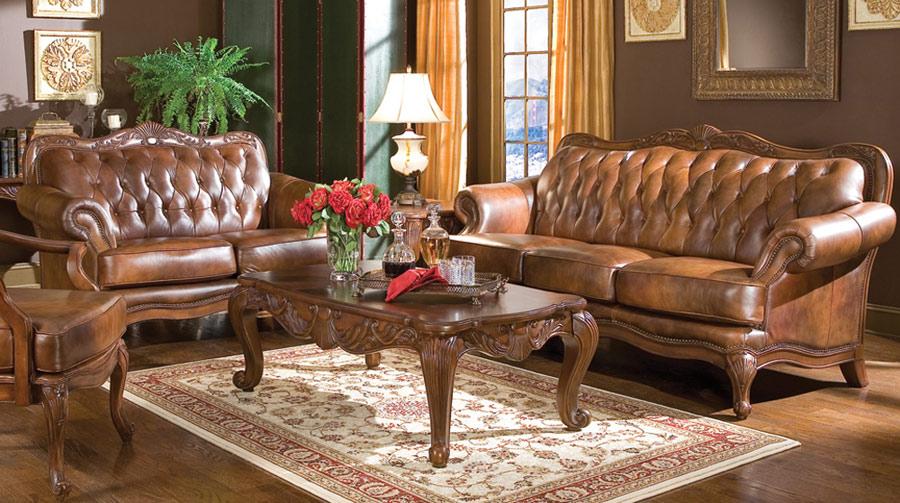 Marvelous Coaster Victoria Sofa Set