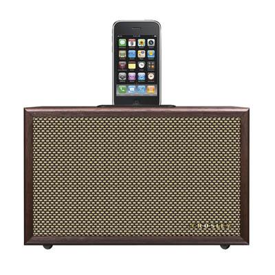 Crosley iDeco Universal iPod Dock - Mahogany