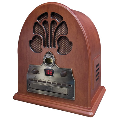 Crosley Cathedral Radio CD-Paprika