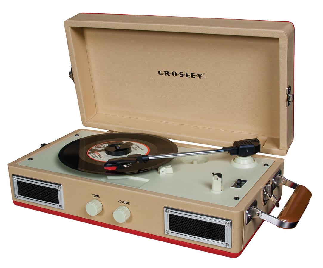 Crosley Mini-Turntable - Red
