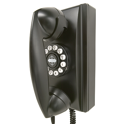 Cheap Crosley Crosley 302 Wall Phone-Black