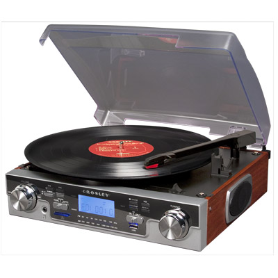 Crosley Recording Tech Turntable - Mahogany