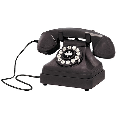 Crosley Kettle Classic Desk Phone-Black