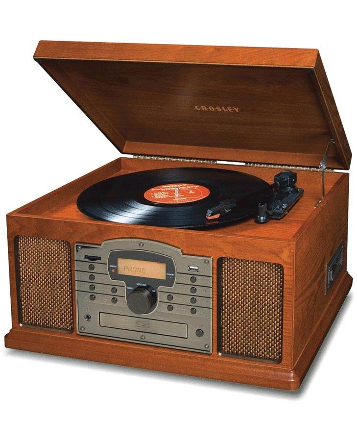 Crosley Troubadour Turntable - Paprika