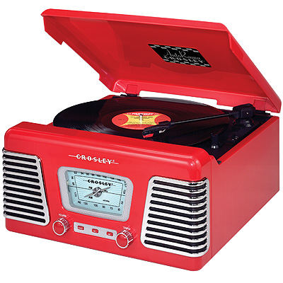 AutoRama-Red Turntables - Crosley