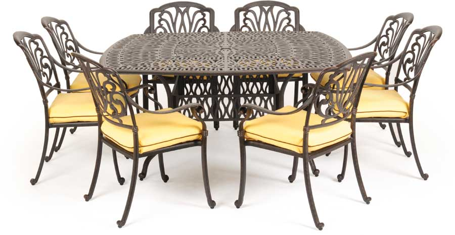 Cheap Caluco Florence Square Dining Collection