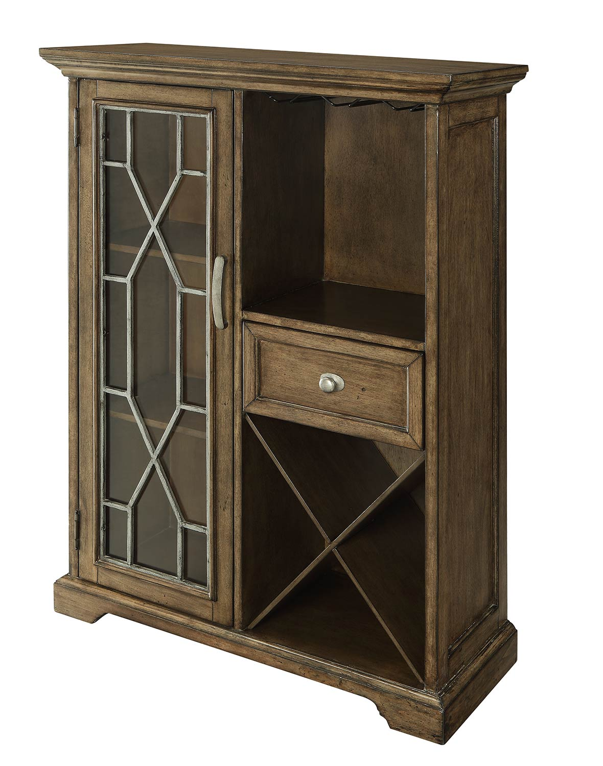 Coast to Coast 78601 One Drawer With One Door Bar Cabinet
